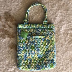 Vera Bradley Slim Tote in English Meadow